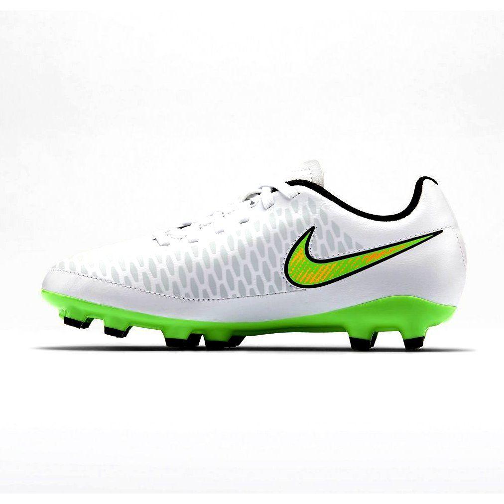 Buty Pilkarskie Nike Magista Onda Fg Jr 651653 130 Biale Biale Football Shoes Junior Shoes Shoes