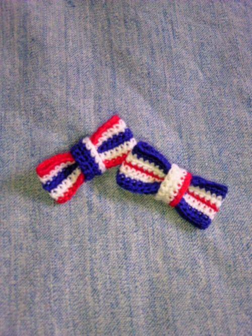 刺繍糸でリボンの作り方 その他 ファッション アトリエ 刺繍糸
