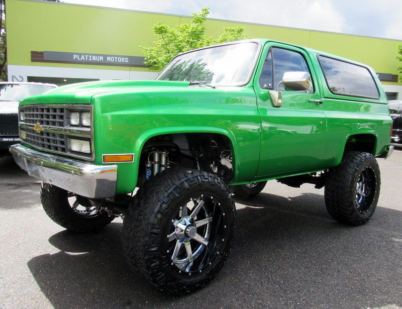 1983 Chevrolet Blazer K5 Blazer Classic Trucks Chevrolet Blazer