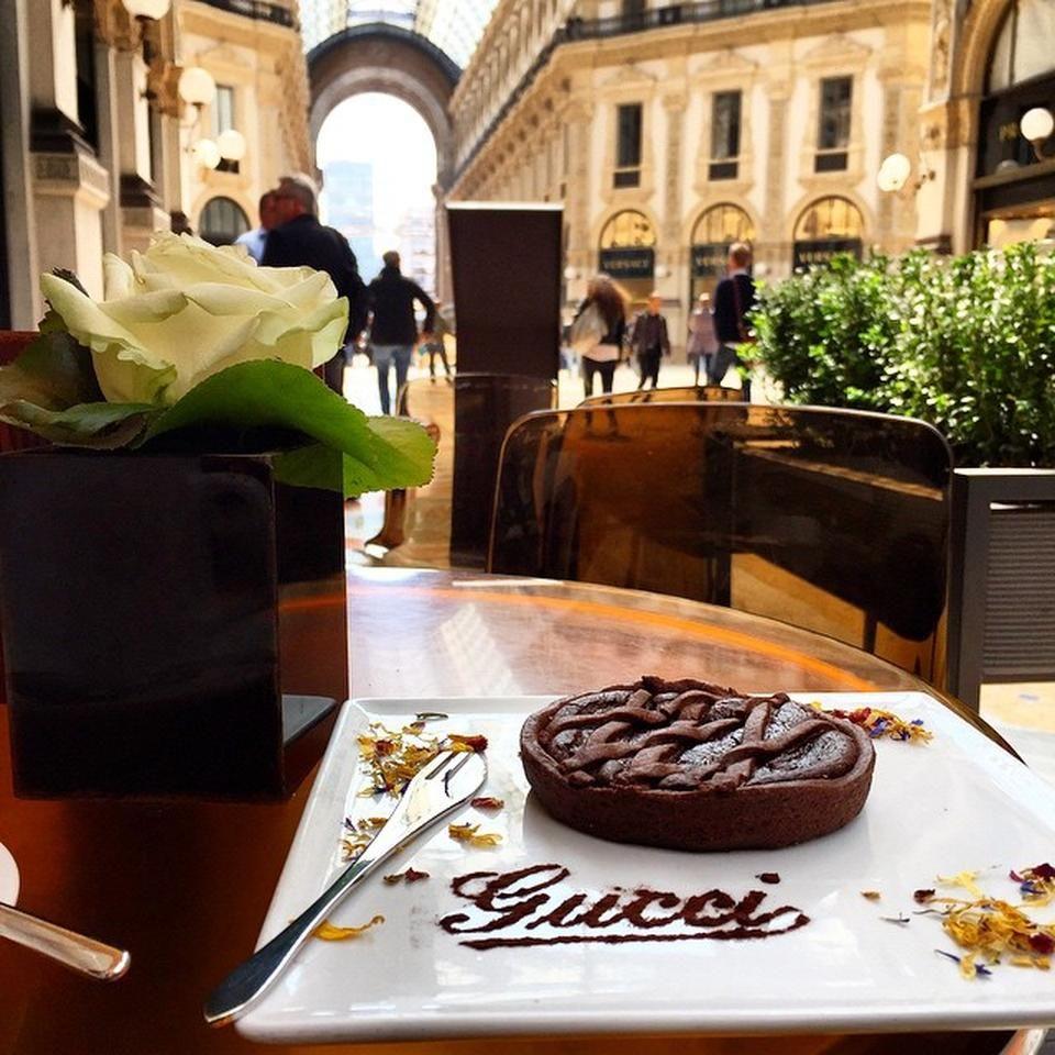 Gucci Café Duomo Milan Lombardy Milan Travel Milan