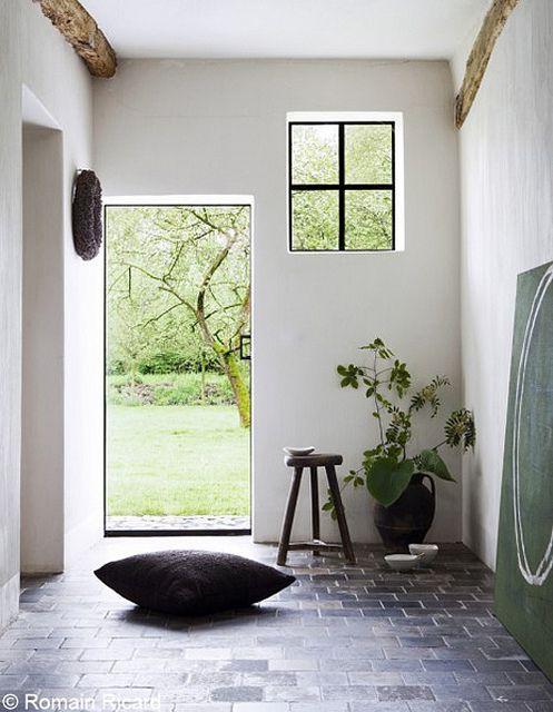 a stunning renovated farmhouse in belgium interior Pinterest