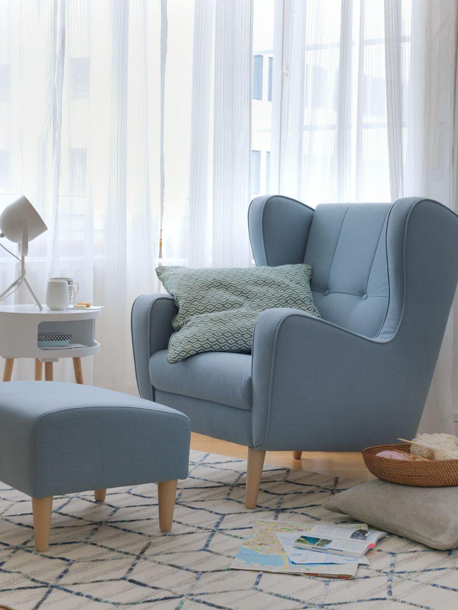 micasa wohnzimmer mit sessel brahms mittelblau micasa wohnen pinterest sessel wohnzimmer. Black Bedroom Furniture Sets. Home Design Ideas