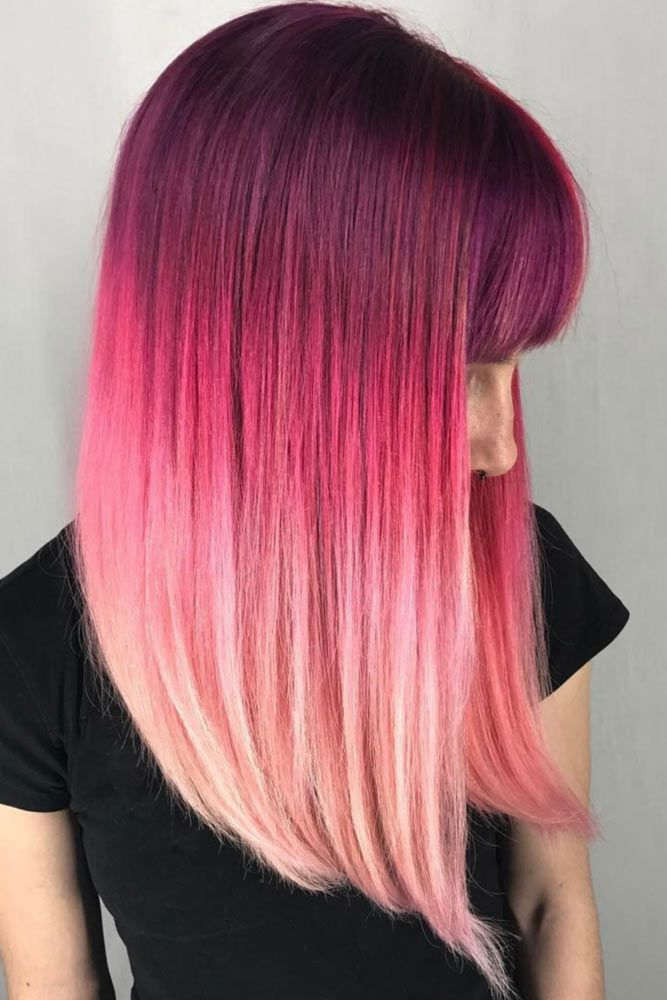 36 Pretty Pink Ombre Hair To Try Immediately Pinterest