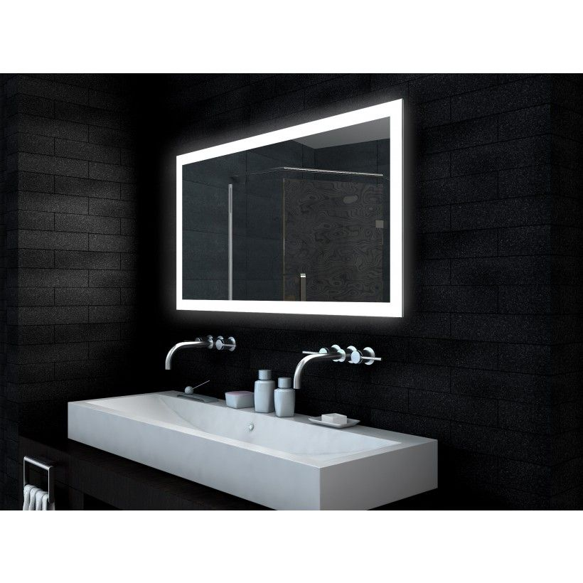 Emley LED Mirror with Demister and Infra Red Sensor (650mm ...