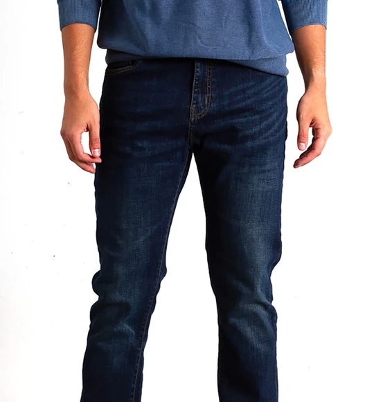 English Laundry Sutton Slim Straight Jeans For Men In Dark Wash