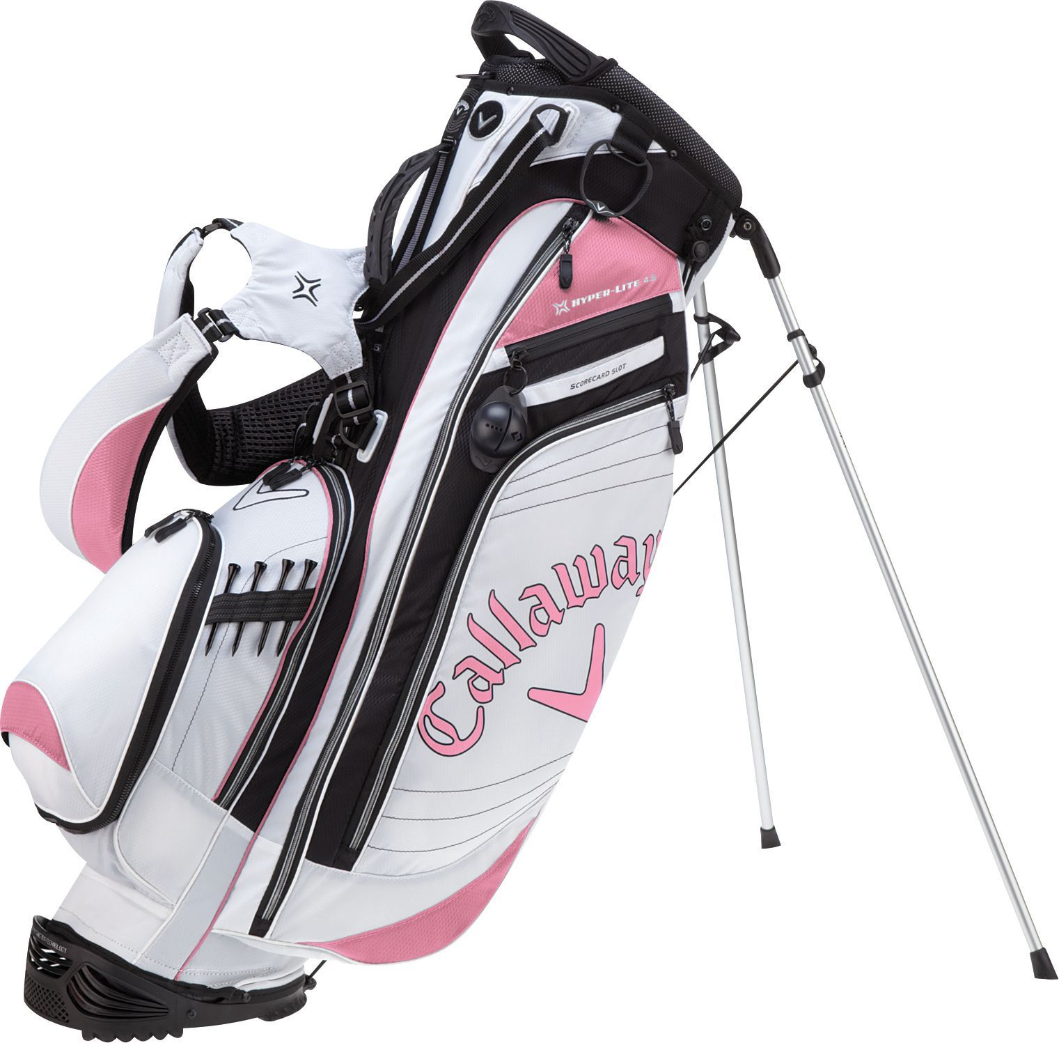 Callaway Women S Hyper Lite 4 5 Stand Bag Golf Bags Unlimited