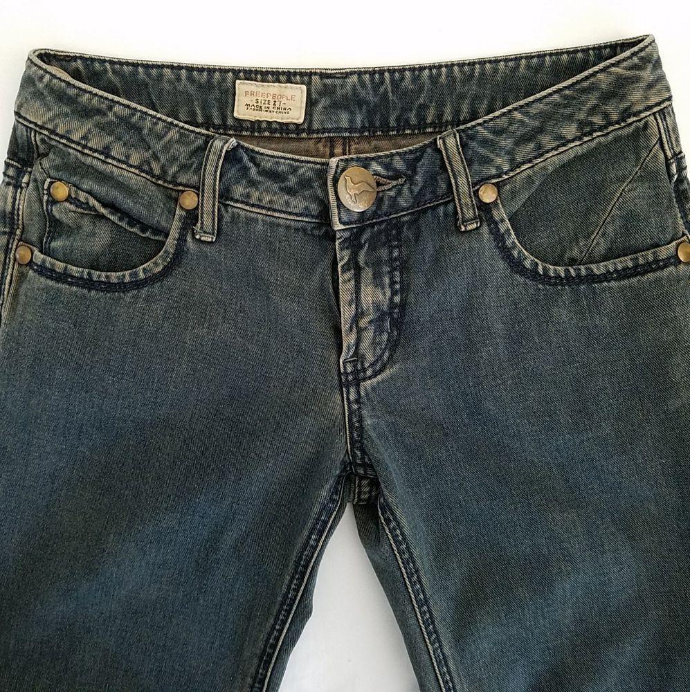 943e2994aa9 Free People Jeans Flare Wide Leg Sz 27 Actual 28 Bell Bottom Brown Wash  Denim  FreePeople  WideLeg  Denim  WomensJeans  Jeans  ebayROCteam