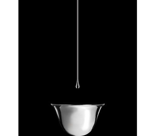 Gessi Goccia Vessel Lav and Ceiling-Mount Faucet | Bathroom Design ...