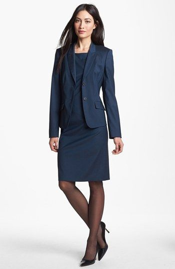 Boss Hugo Boss Jacket Sheath Dress Available At Nordstrom