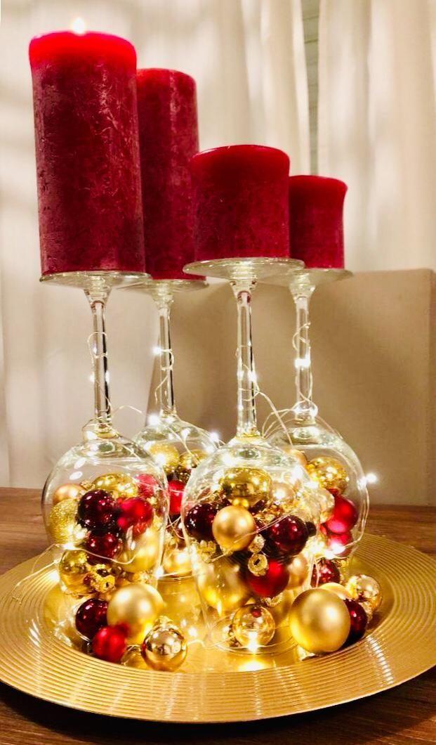 Adventskranz - Maira Garcia - Pinterest #rustikaleweihnachten