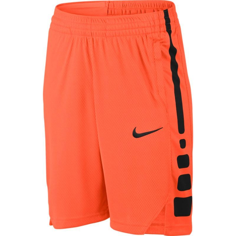 Nike Boys Dry Elite Stripe Basketball Shorts Size Medium Hpr Org Deep Nght Shorts Basketball Striped Shorts