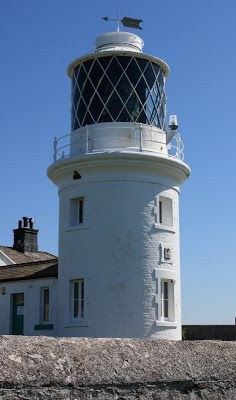 St. Bees Lighthouse in Cumbria, England