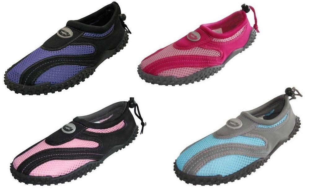 Ladies Aqua Shoe