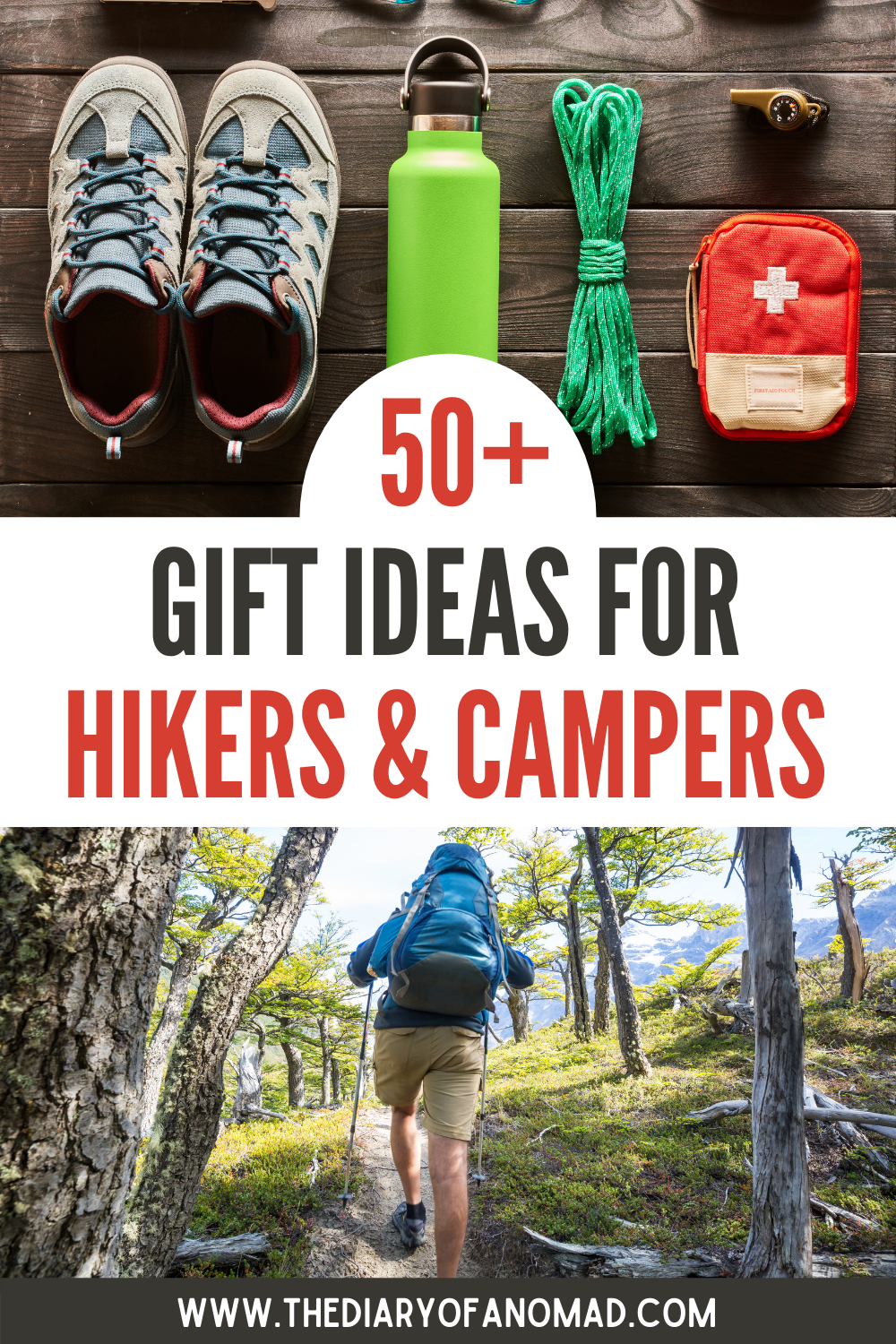 50+ Best Gifts for Hikers, Campers & Backpackers i