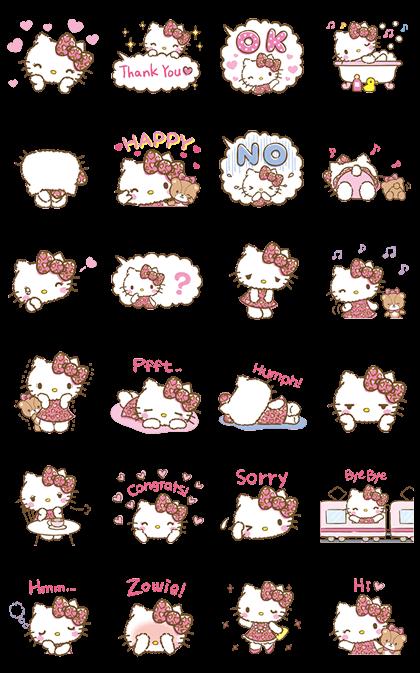 Hello Kitty Animated Stickers Pop Up Hello Kitty Images Hello Kitty Wallpaper Kitty Wallpaper