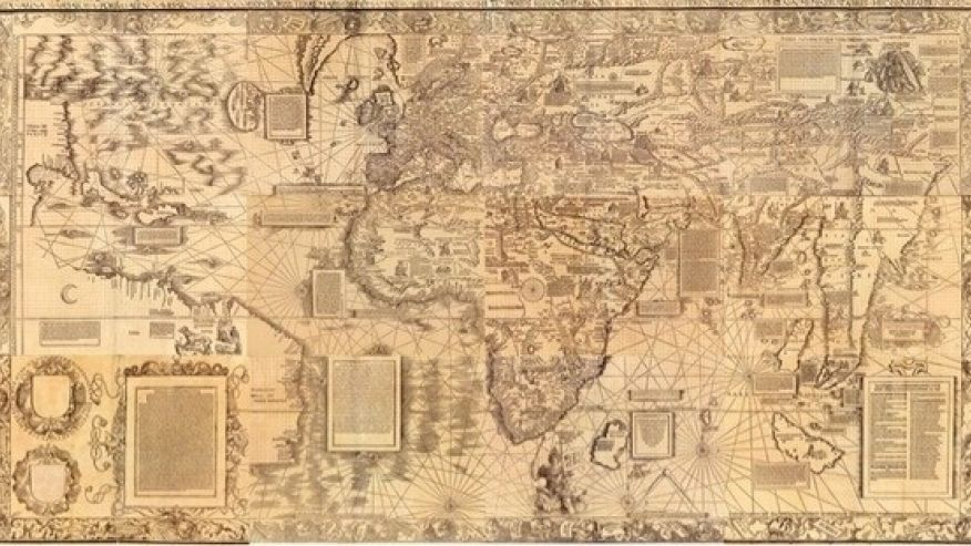World Map In Renaissance. Not much is known about how Renaissance cartographer Martin Waldseemller  created his 1516 Carta marina world map possibly the most up to date conception The making of a mysterious