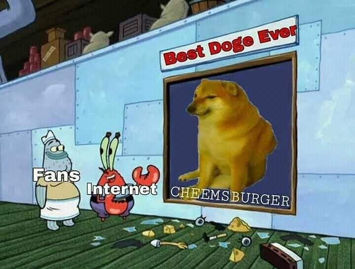 Cheems Crying Buff Doge Meme Coffee Tea Mug 11oz |