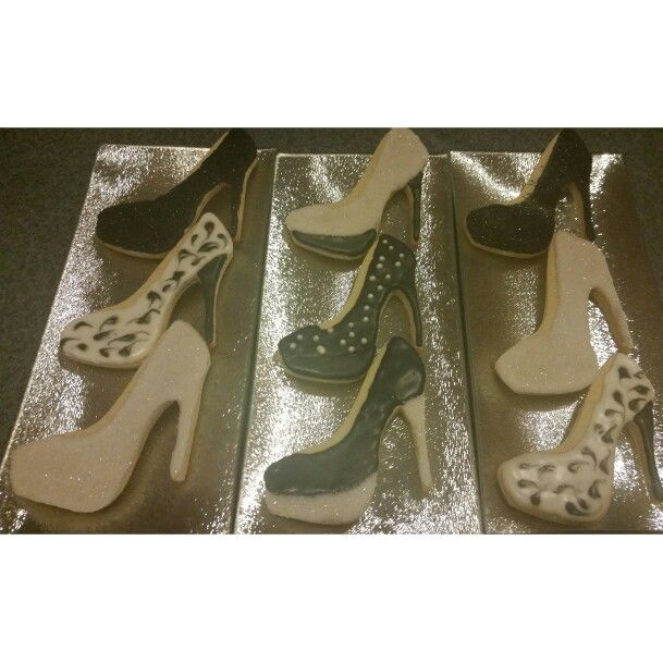 Stiletto Cookies.  High Heel Cookies