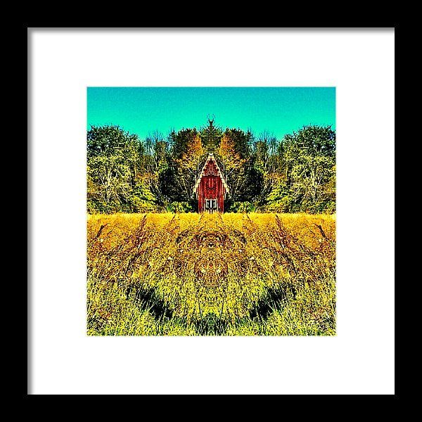 """""""The Little House In The Field"""" Digitally Painted Art Work from the art studio of Scott D Van Osdol available at fineartsamerica.com"""
