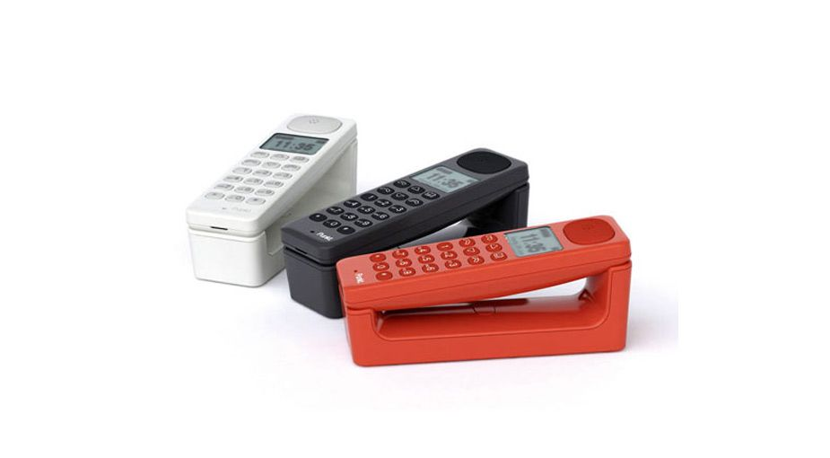 Articulating The Functionality And Simplicity Of The Cordless Telephone Prolific Designer Jasper Morrison S Stunning Punkt D Telefone Vintage Vintage Telefone