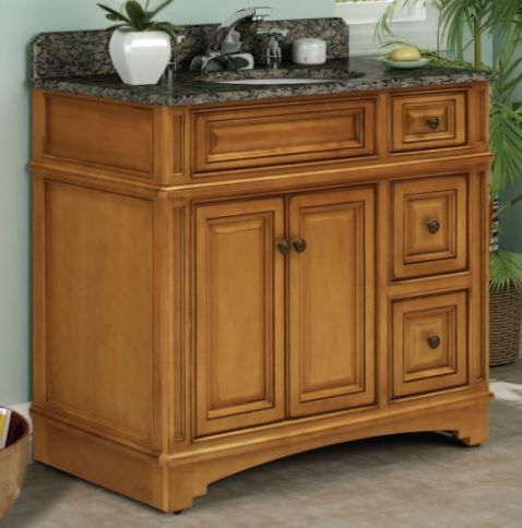 The Vintage Estate vanity from Sunny Wood. Find out more ...