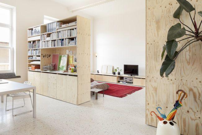 Modern Interieur Herenhuis : Modern herenhuis met multiplex maatwerk interiors and house