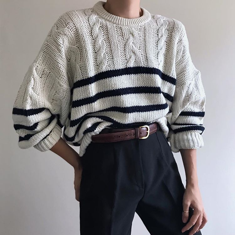 90s Vintage Oversize Sweater Sweater Outfits Men Oversized Sweater Men Vintage Sweater Outfit