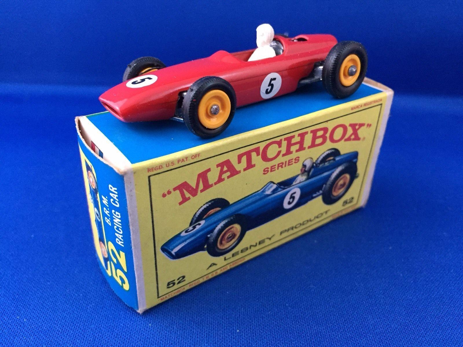 MATCHBOX LESNEY 52b B.R.M. RACING CAR, MINT IN BOX, FREE