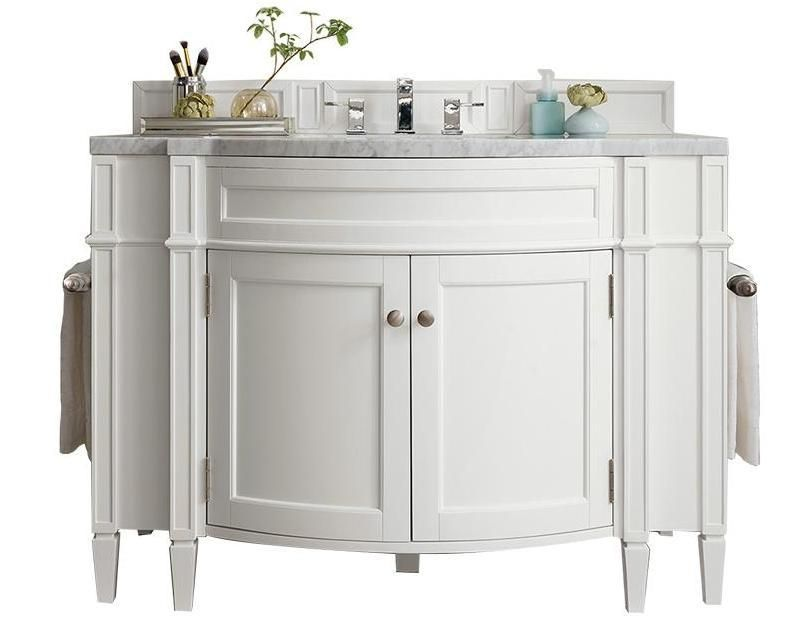 46 Brittany Cottage White Single Bathroom Vanity With Images