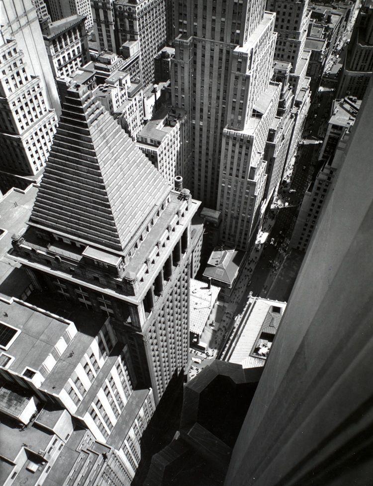 Wall Street From Rooftop Manhattan 1938 Photograph Photograph New York Architecture Berenice Abbott Berenice
