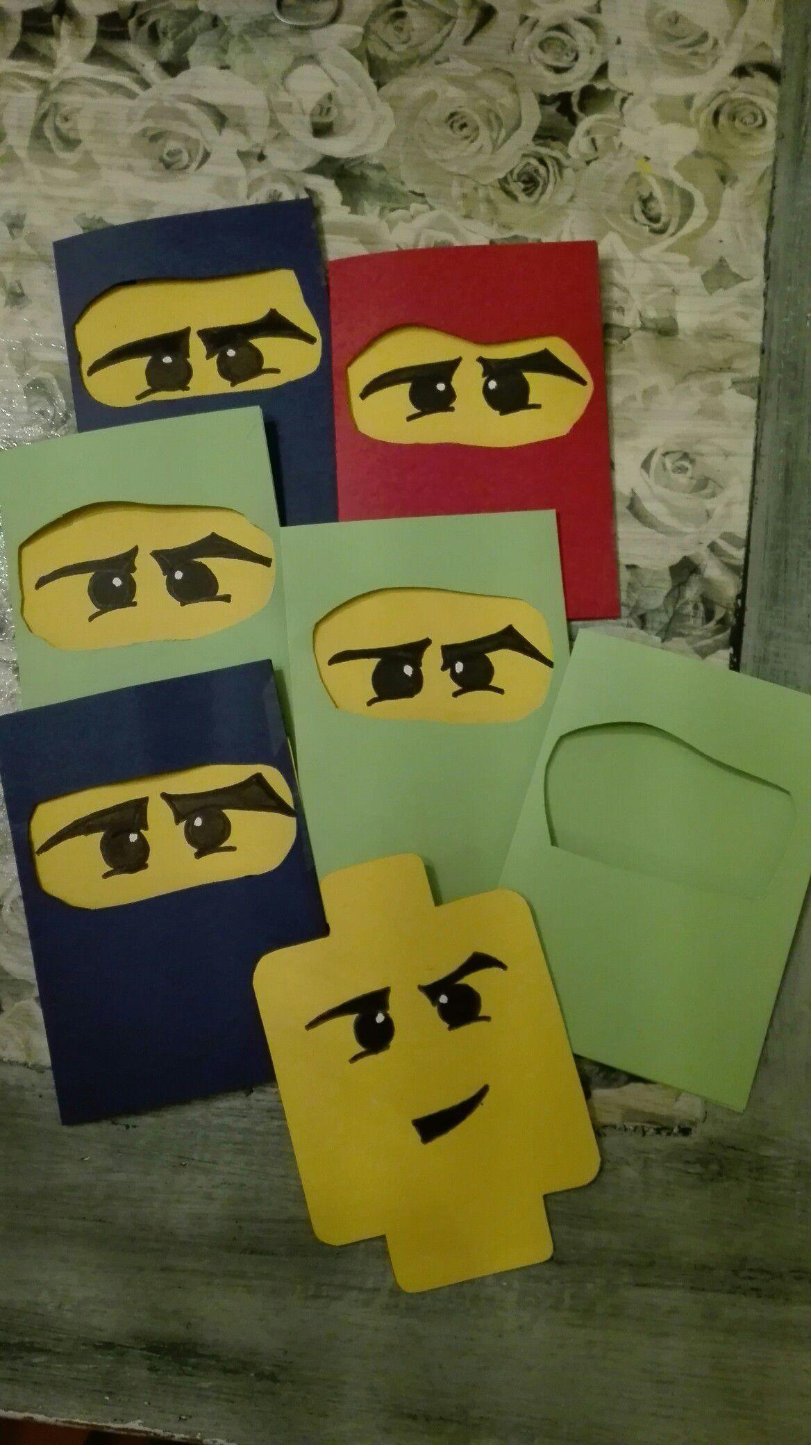ninjago einladungskarten deutsch | ninjago
