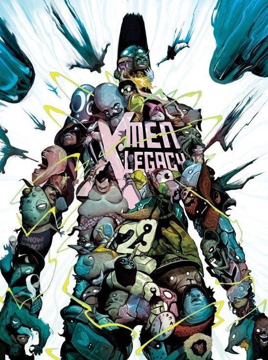 Mike Del Mundo X Men Legacy 23 In 2020 Comic Book Covers Legion Comic X Men