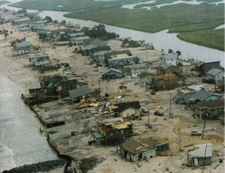 Hurricane Hugo Hurricane Hugo Garden City Beach 1989 We were
