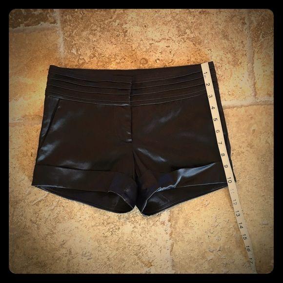 BeBe Satin Like Shorts BeBe Satin Like Black Shorts bebe Shorts