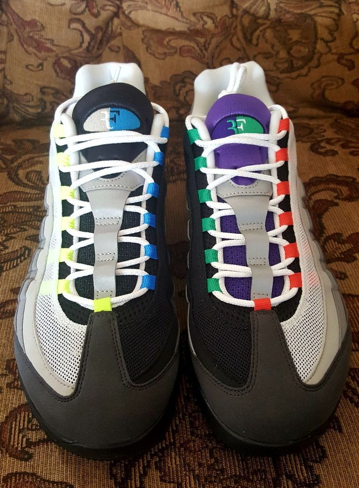 detailed look 309a4 90383 Nike Court Zoom Vapor RF x AM 95 Air Max 95 sz. 13 In Hand ...