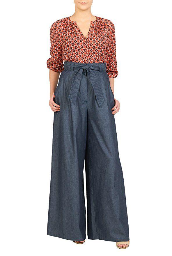 4c2d2b166a9 1940s Style Pants   Overalls- Wide Leg