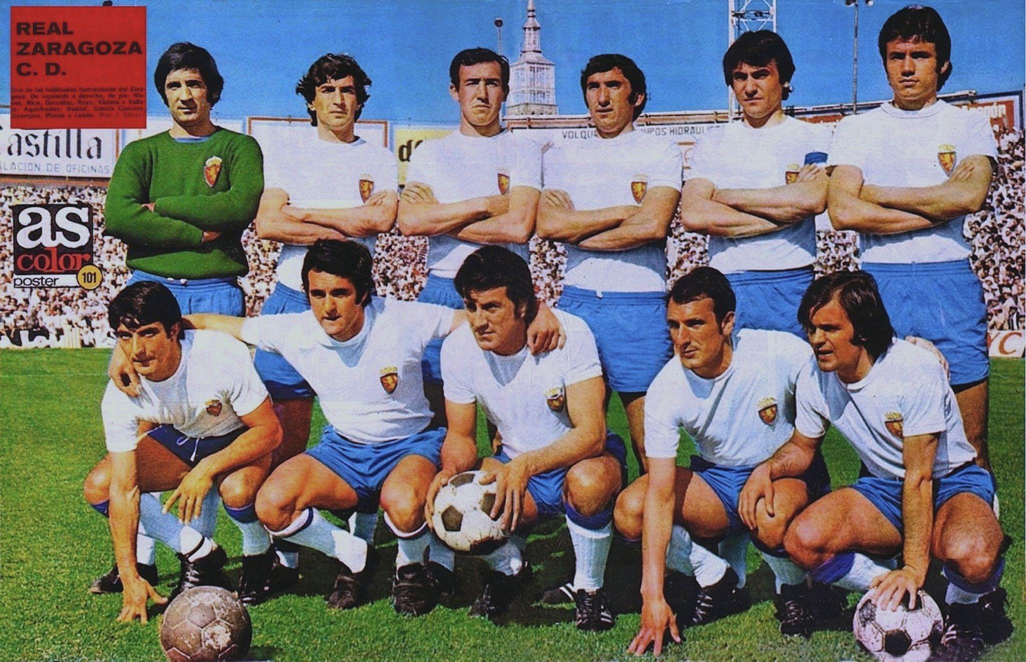 101 - Real Zaragoza Club Deportivo 72-73. - Equipo de ...