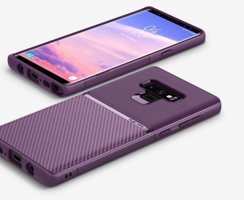 new arrival 3159e 5057f Obliq Flex Pro Samsung Galaxy Note 9 Case - Carbon Lilac Purple in ...