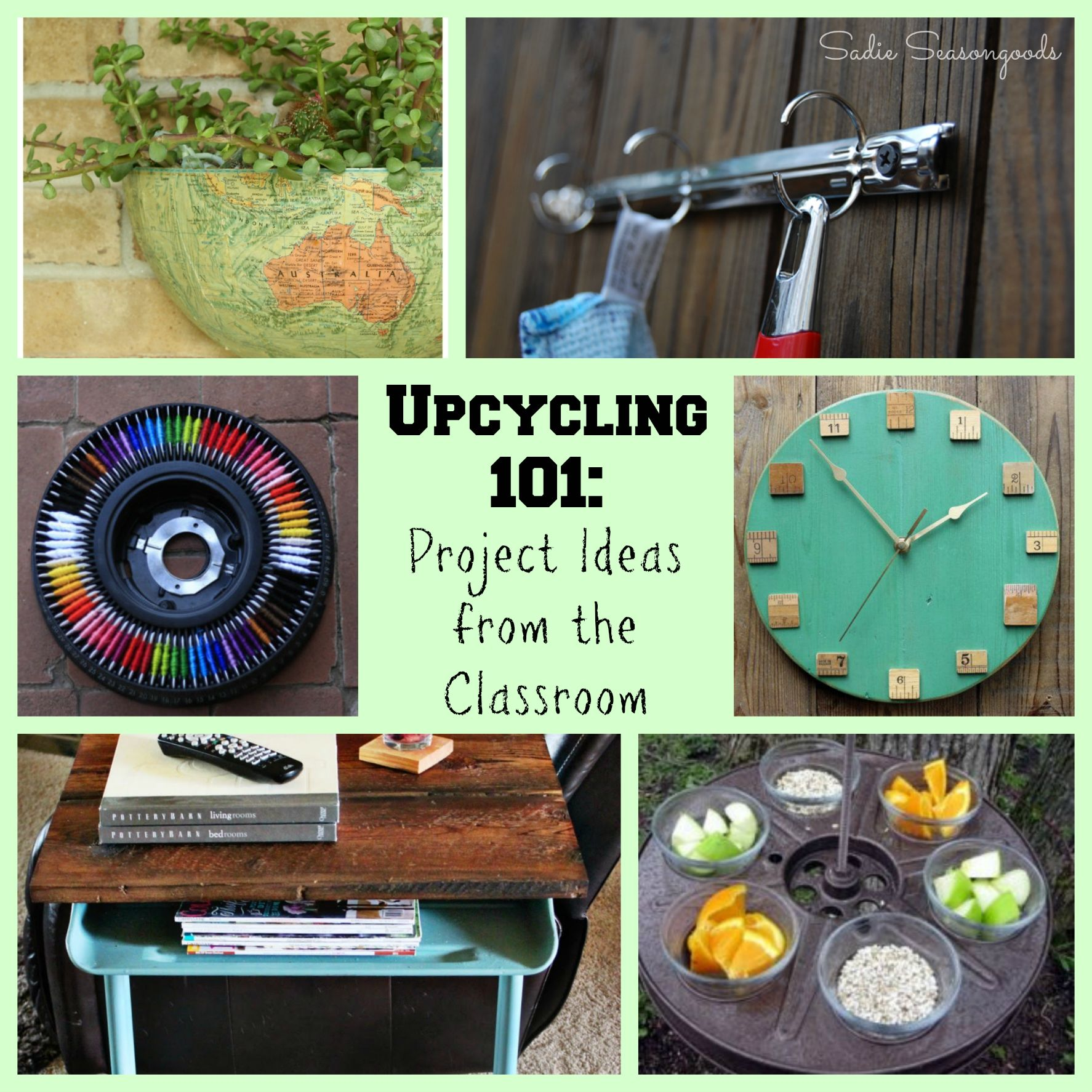 Repurposed And Upcycled Farmhouse Style Diy Projects: 30+ Upcycling And Repurposing Project Ideas For School