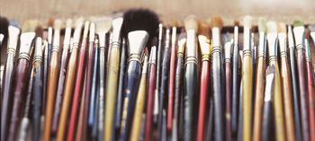 Artists & their brushes