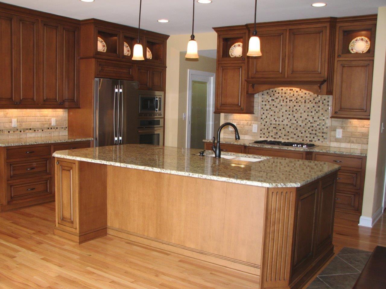 Custom Floor to Ceiling Kitchen Custom home
