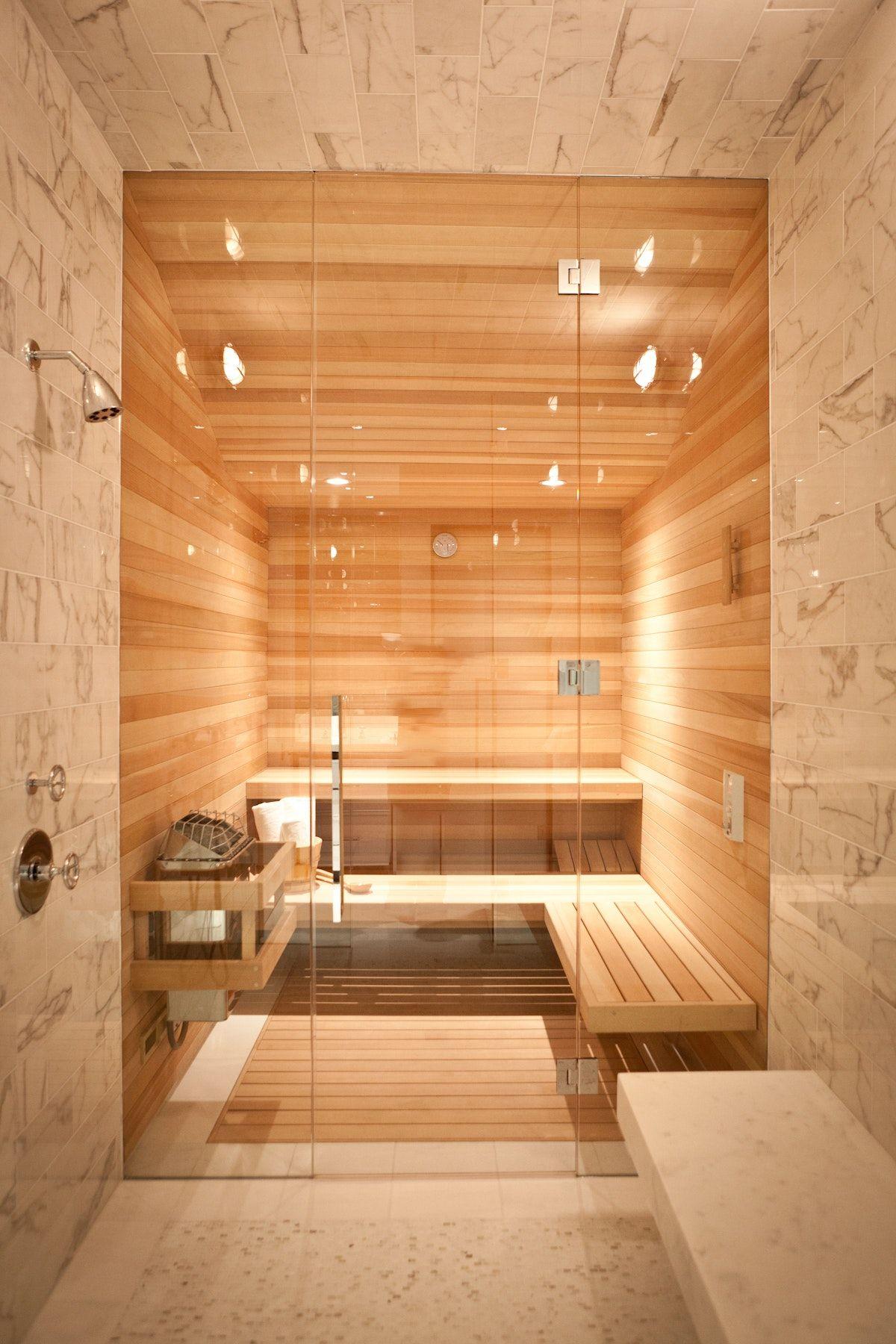 Presidio Heights Residence Featuring Pass Through Sauna Steam Room