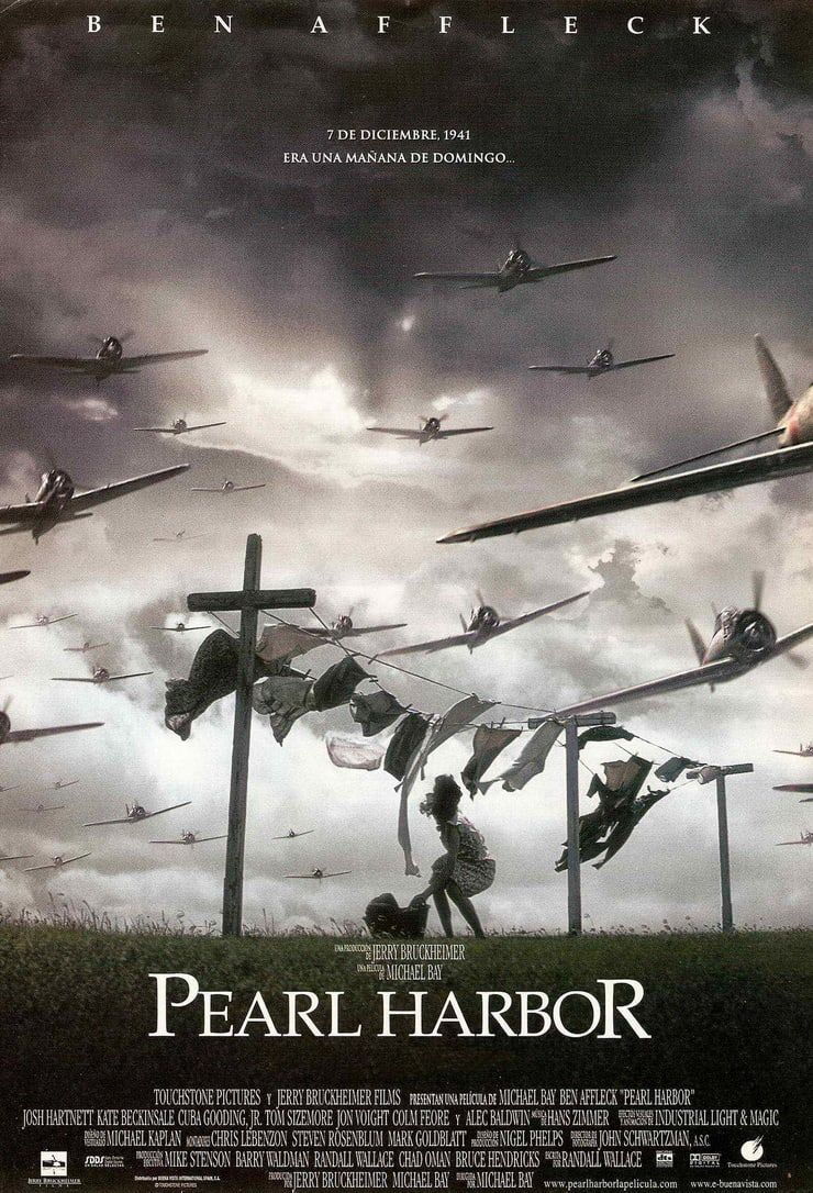 Pearl Harbor Pearl Harbour Movie Touchstone Pictures Pearl Harbor