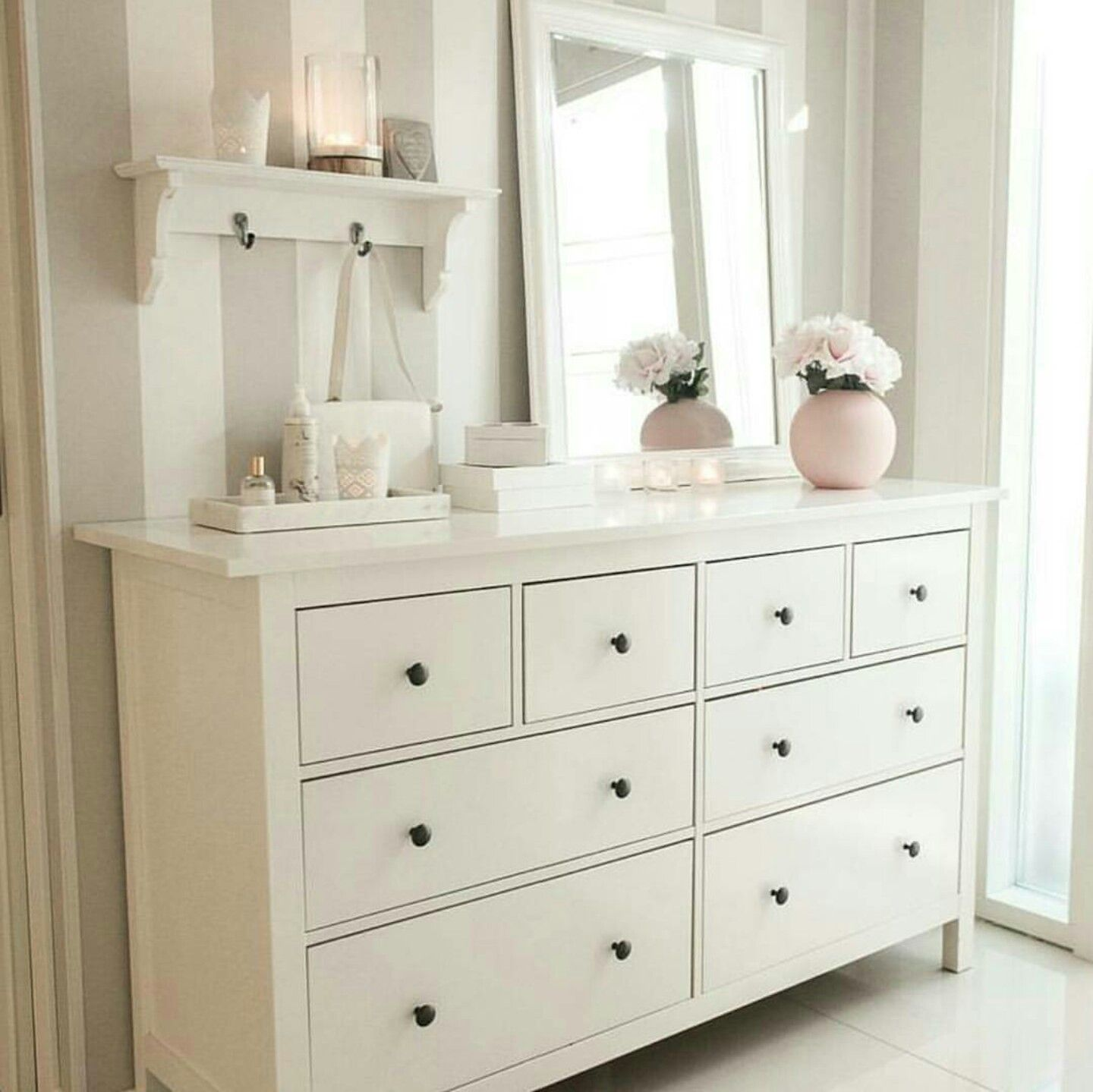 Ikea schlafzimmer hemnes  Pin by najd on أثاث وديكور   Pinterest   Bedrooms, Decoration and ...
