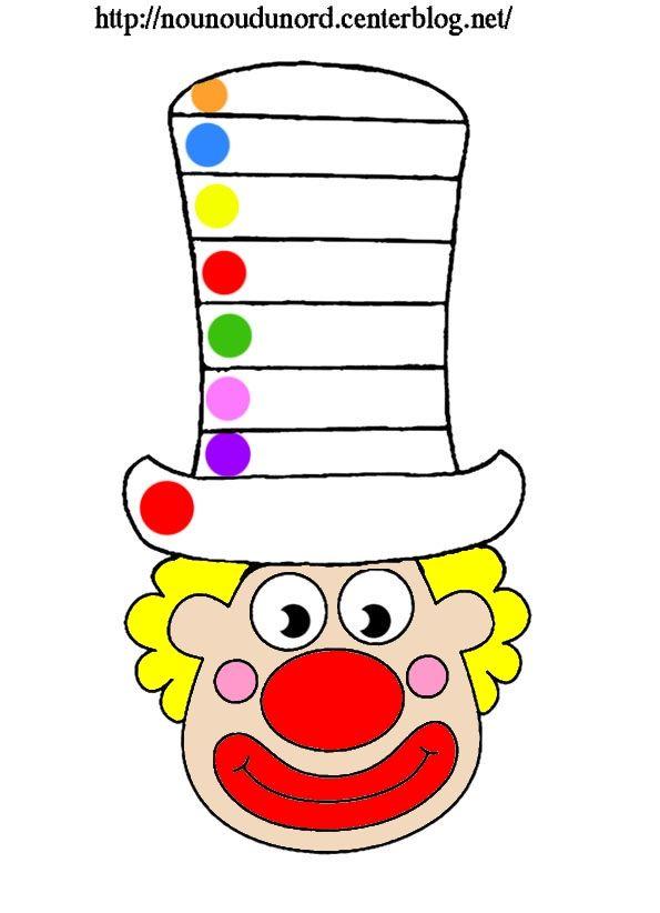Coloriages comptine gommettes imprimer mardi gras carnaval clown masque cliquez sur mon - Masque de carnaval a imprimer ...
