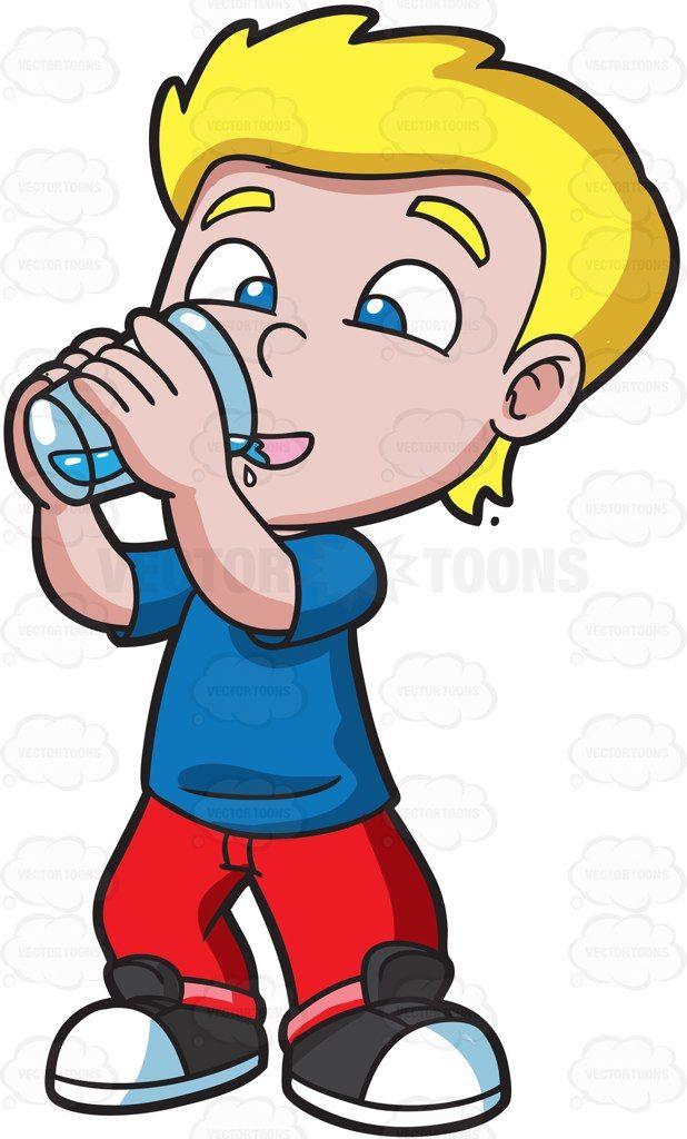 a happy boy drinking water sooooo thirsty pinterest clip rh pinterest com drinking water clipart free drinking water clip art free images