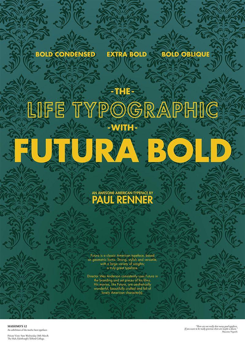 Futura Bold | Massimo's Twelve | Mandy Fleetwood | Cool