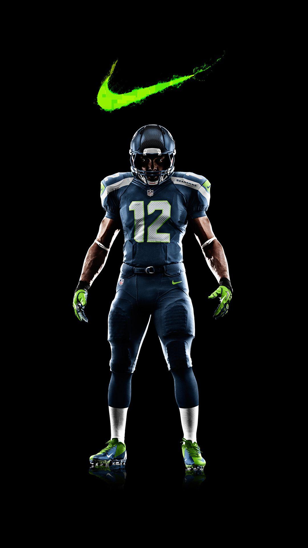 b10f1fe6c Pin by Mark Baker on Hawks | Nike football, Football uniforms ...