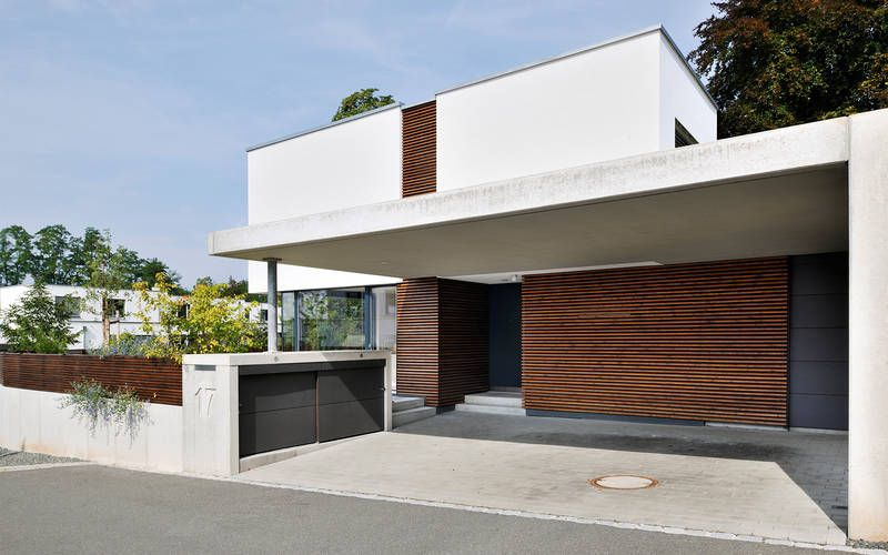 1016 einfamilienhaus neubau architekten plano for Minimalistisches haus grundriss