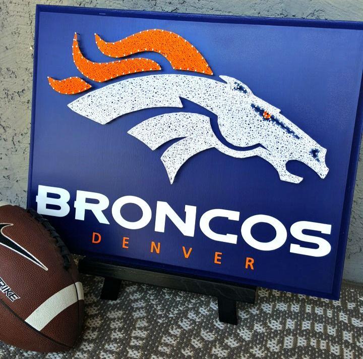 16 x 20 Denver Broncos string art